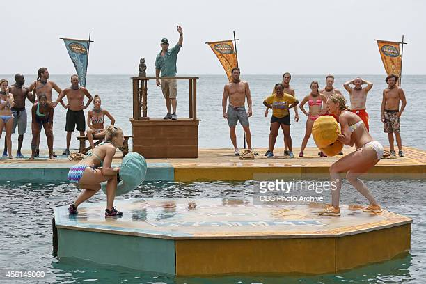 Method To This Madness Kelley Wentworth and Jaclyn Schultz during the second episode of Survivor 29 Wednesday Oct 1 on the CBS Television Network