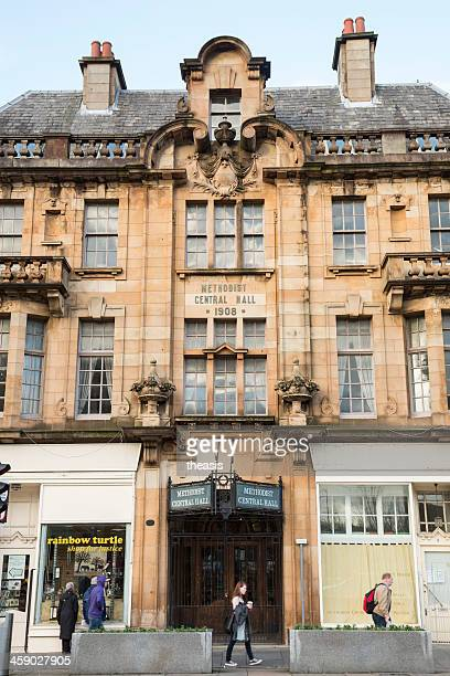 methodist central hall, paisley - theasis stockfoto's en -beelden