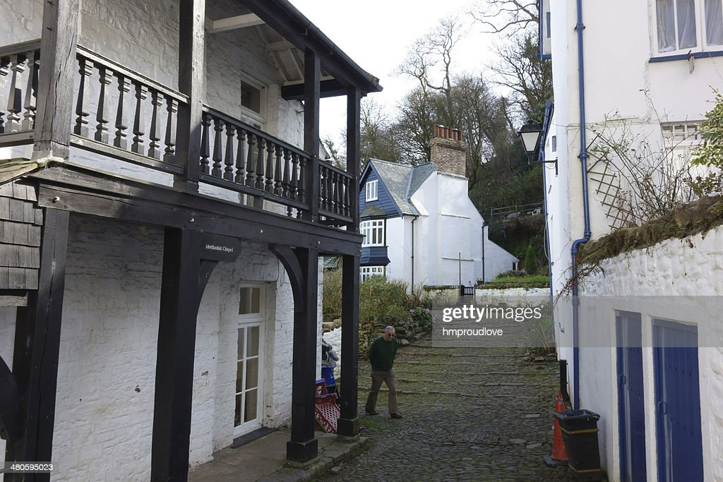 Methodist chapel, Clovelly : Stock Photo