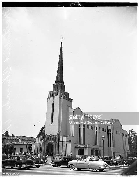 Methodist church Dr George A Warmer Dr Roy W Ragsdale Paul G Helms Dr James C Baker July 1 1951