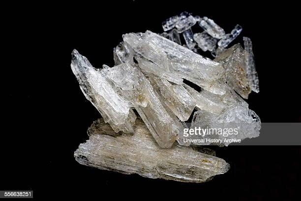 Methylamphetamine desoxyephedrine Crystal Meth a manmade stimulant drug