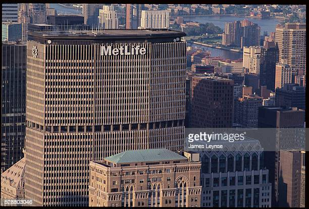 MetLife and Other Downtown Manhattan Buildings