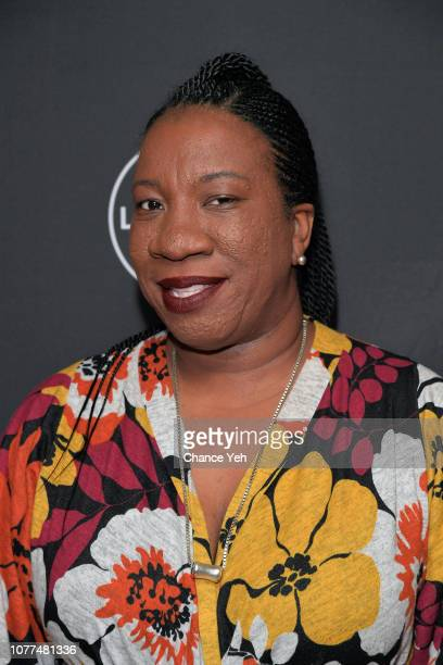 #metoo founder and civil rights activist Tarana Burke attends Lifetime / NeueHouse Luminaries series 'Surviving R Kelly' documentary screening and...