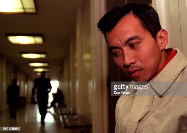 METranWaiting0316DK Truong Van Tran waits outside Westminster Courtroom for the arrival of his attorney Tran surrendered to authorities this...