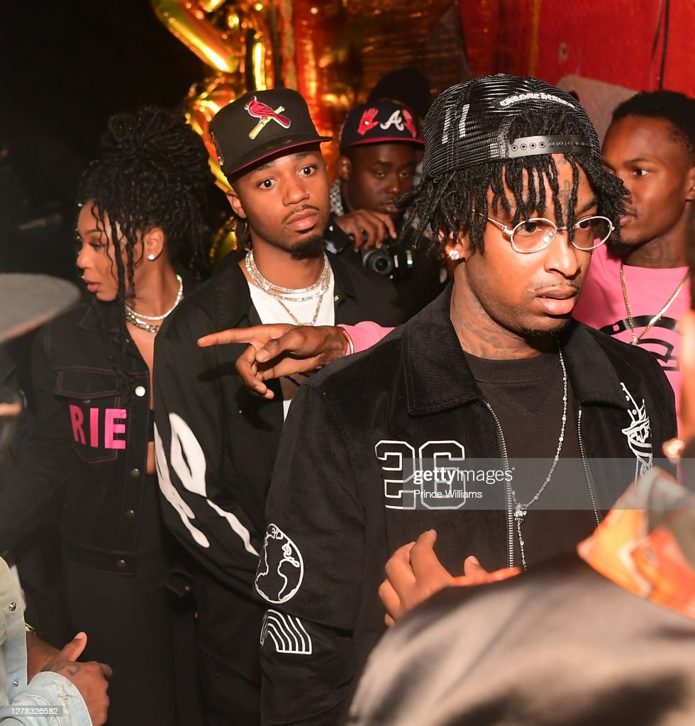 metro boomin and 21 savage attend savage mode 2 official album news photo getty images 2