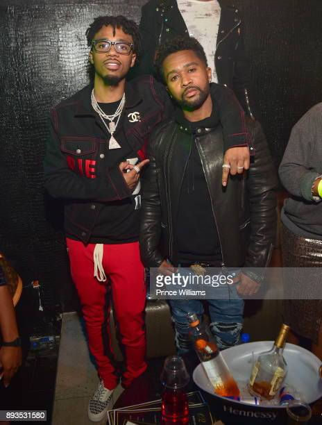 Metro Boomin and Zaytoven attend BMI Holiday Party at O2 Lounge on December 14 2017 in Atlanta Georgia