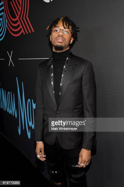 Metro Boomin attends the 2018 GQ x Neiman Marcus All Star Party at Nomad Los Angeles on February 17 2018 in Los Angeles California