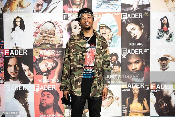Metro Boomin attends the FADER FORT presented by Converse during SXSW on March 16 2016 in Austin Texas