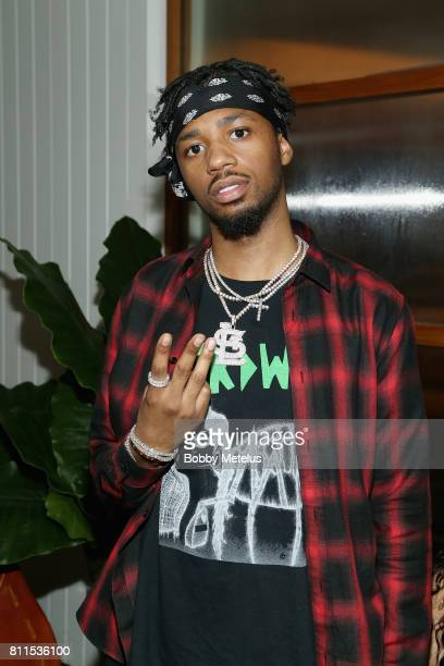Metro Boomin attends the New Era Cap MLB AllStar Party 2017 at Beachcraft at 1 Hotel South Beach on July 9 2017 in Miami Beach Florida