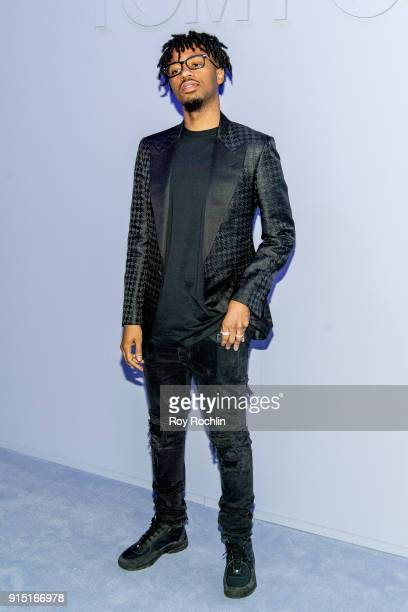 Metro Boomin attends the Tom Ford Fall/ Winter 2018 Men's Runway Show at Park Avenue Armory on February 6 2018 in New York City