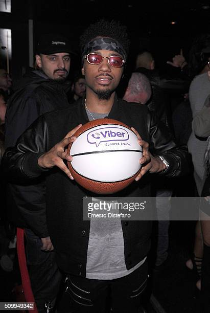 Metro Boomin attends Viber leading mobile messaging app and YesJulz NBA All Star Game Party at La Vie Nightclub on February 12 2016 in Toronto Canada