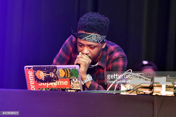Metro Boomin performs at the The Novo Late Night Concert Performance presented by Apple during the 2016 BET Experience on June 24 2016 in Los Angeles...