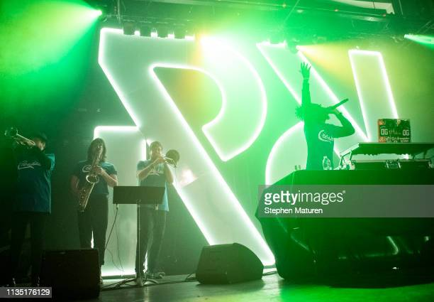 Metro Boomin performs during Spotify's RapCaviar Live at Varsity Theater on April 5 2019 in Minneapolis Minnesota