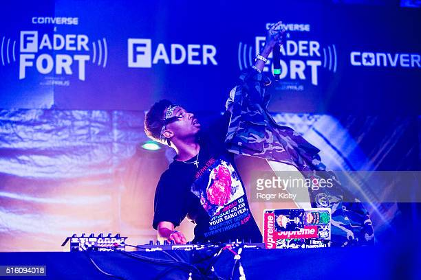 Metro Boomin performs onstage at the FADER FORT presented by Converse during SXSW on March 16 2016 in Austin Texas