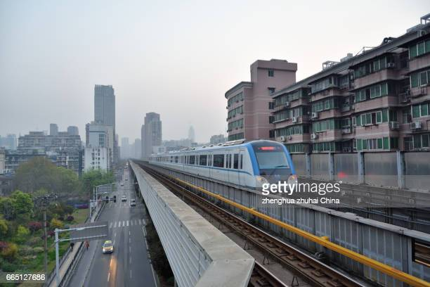 Metro Line 1 Xunlimen transfer station, Wuhan China