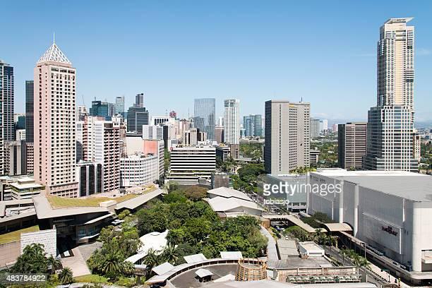 metro manila, philippinen - hauptstadtregion stock-fotos und bilder