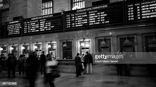 Metro North Ticket Station to destinations upstate New York