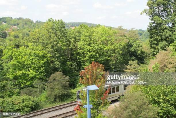 A Metro Train In Pittsburgh