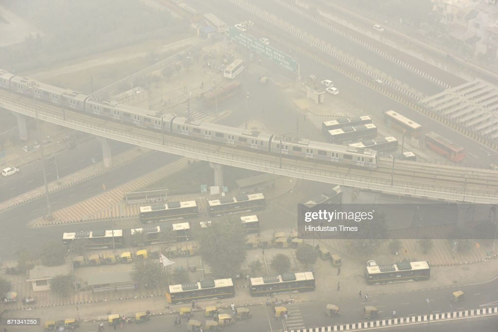 Delhi has suffered a week of terrible air pollution and thick smogs. The air quality index, which measures the concentration of poisonous particulate matter in the air, hit the 'severe' level of 451 on a scale where the maximum reading is 500 and where anything above 100 is considered unhealthy.