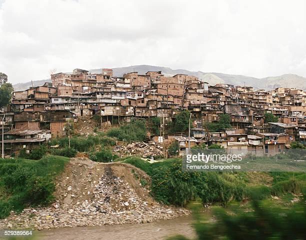 Metrocable View of Neighborhood