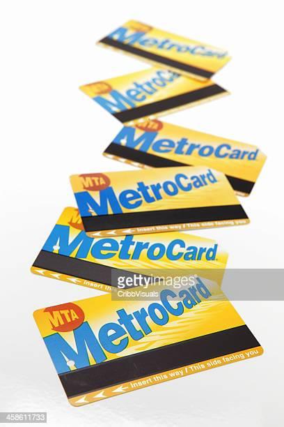 NYC MTA MetroCard della metropolitana e dell'autobus tariffa carte