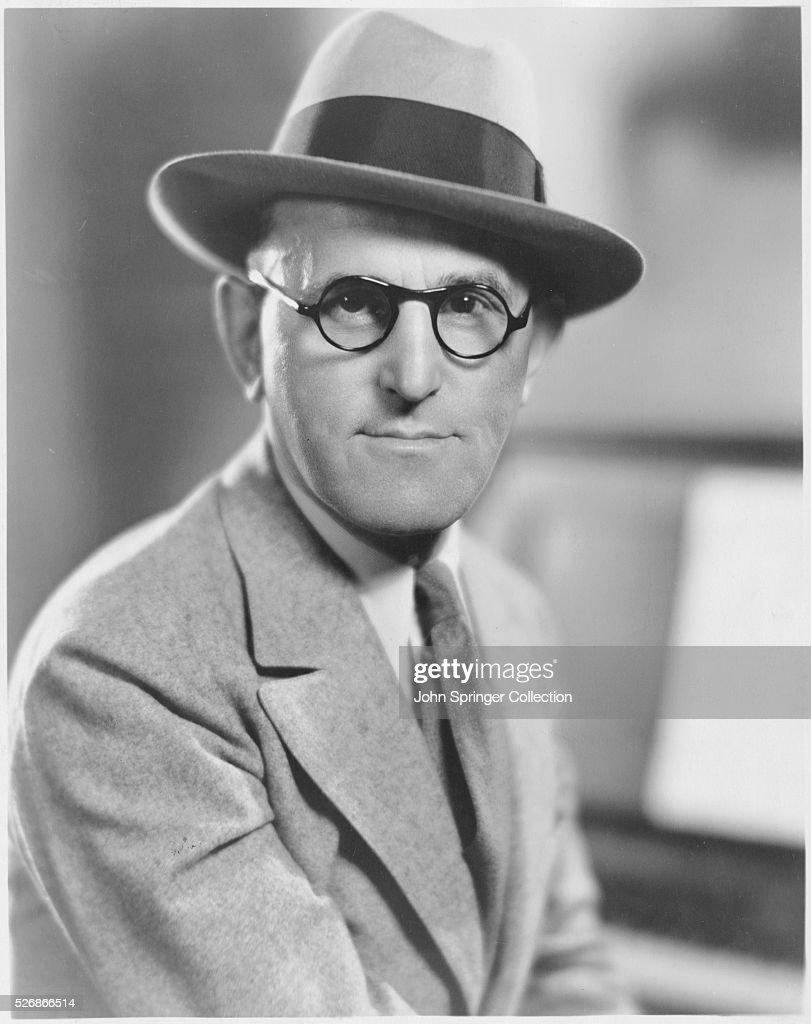 Metro-Goldwyn-Mayer Composer Fred Fisher : News Photo
