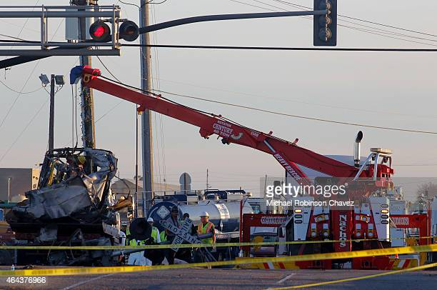 Metrolink train collided with a vehicle near the intersection of Rice Ave and 5th Street in Oxnard on Tuesday morning According to authorities 28...