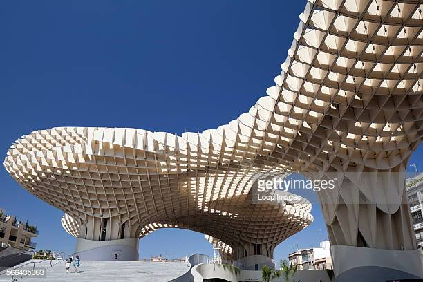 Metropol Parasol at the Plaza de la Encarnacion in Seville