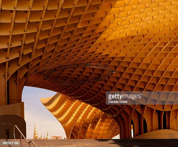 Metropol Parasol by architect Jurgen Mayer is a wooden structure located at La Encarnación square, in Seville, Spain. It was designed by the German...