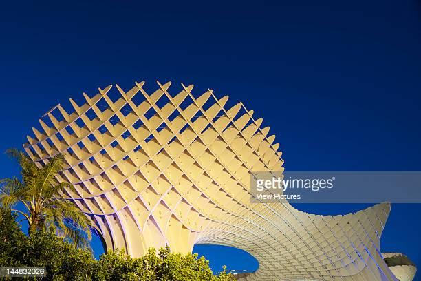 Metropol Parasol Plaza De La Encarnación Sevilla Andalucia Spain Architect Jürgen Mayer H Architects Metropol Parasol By J Mayer H Architects In...