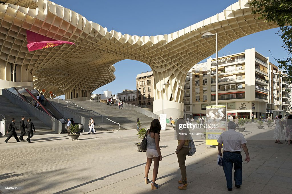 Metropol Parasol, Plaza De La Encarnación, Sevilla, Andalucia, Spain ...