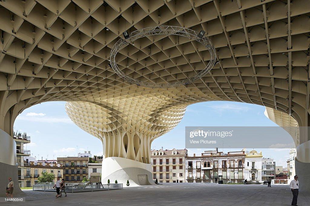 Metropol Parasol, Plaza De La Encarnación, Sevilla, Andalucia ...