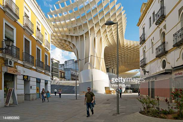 Metropol Parasol Plaza De La Encarnación Sevilla Andalucia Spain Architect Jürgen Mayer H Architects Metropol Parasol By J Mayer H Architects In...