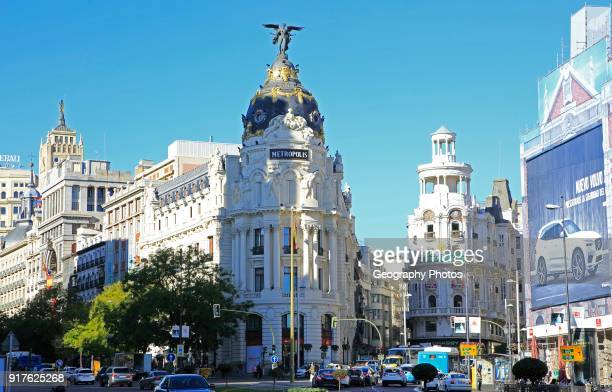 Metropolis building Calle de Alcala and Gran V�a Madrid city centre Spain architects Jules and Raymond F_vrier 1911