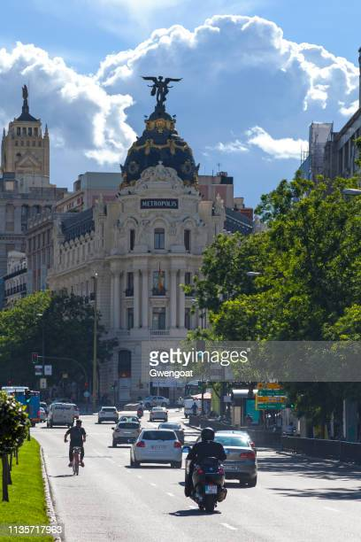 Metropolis Building in Madrid