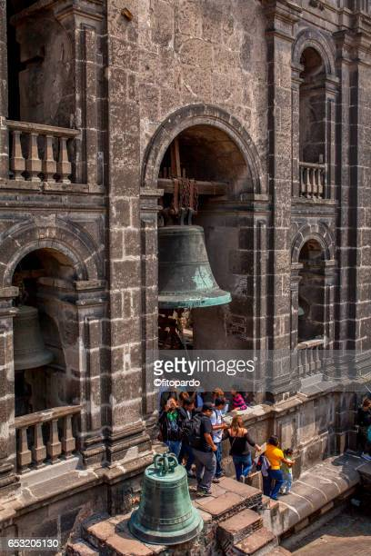 metropolitan cathedral bell tower - bell tower tower stock pictures, royalty-free photos & images