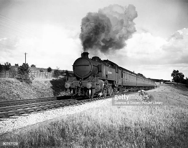 Metropolitan Class steam locomotive 264T engine No 116 near Dutchlands c1935 The Metropolitan Railway operated an outersuburban train to Aylesbury...