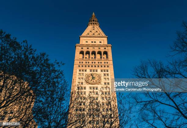 metropolitan life tower - daniele carotenuto stock pictures, royalty-free photos & images