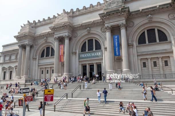metropolitan museum of art à new york city - met art gallery photos et images de collection