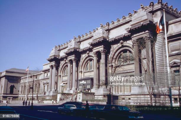 Metropolitan Museum of Art, New York City, New York, USA, July 1961.