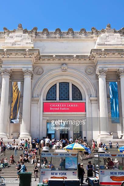 metropolitan museum of art, new york city. - metropolitan museum of art new york city stock pictures, royalty-free photos & images