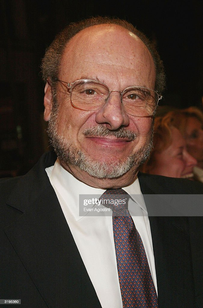 Metropolitan Opera General Manager Joseph Volpe attends the Broadway opening of 'Sly Fox' at The Barrymore Theatre April 1, 2004 in New York City.