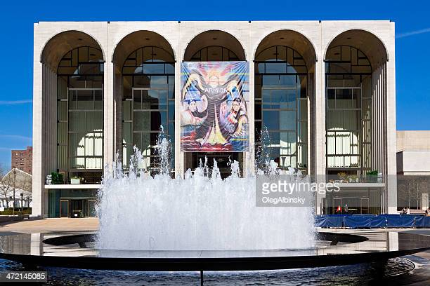 metropolitan opera house (lincoln center), new york city. - the theater lincoln center stock photos and pictures