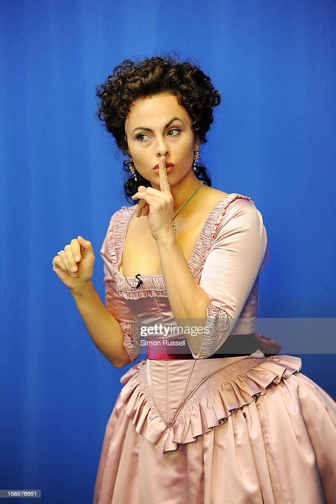 Metropolitan Opera star Isabel Leonard performs 'The Barber Of Seville' at the Kravis Children's Hospital at Mount Sinai Medical Center on December 19, 2012 in New York City.