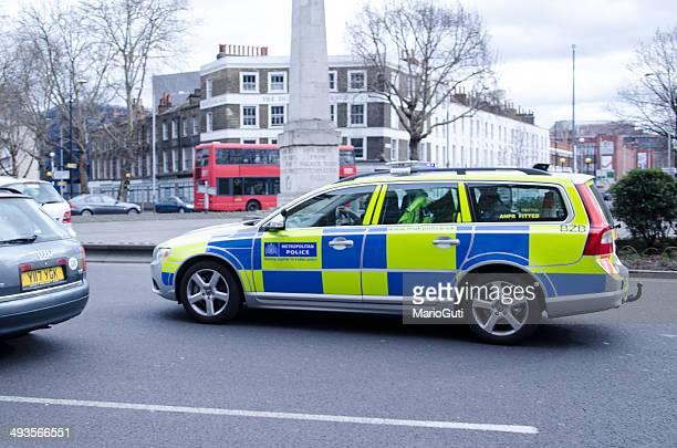 Metropolitan police car