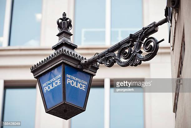 metropolitan police lantern in london - justice concept stock pictures, royalty-free photos & images