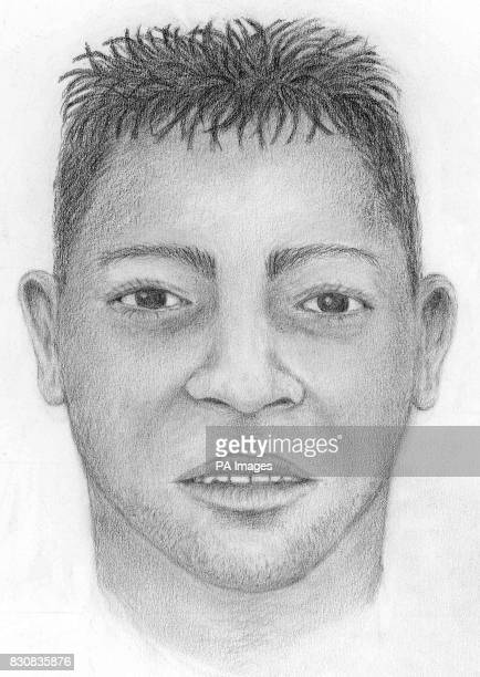 Metropolitan Police released artist's impression of the murder victim whose badly burned body was discovered in Roe Green Park Kingsbury north west...