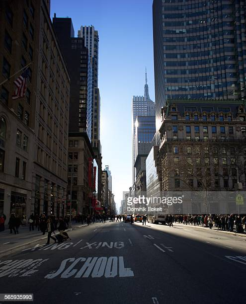 Metropolitan street scene