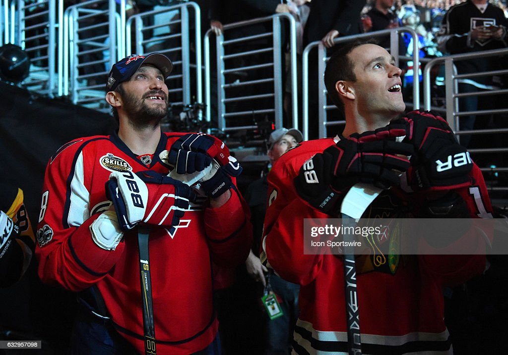 NHL: JAN 28 All-Star Skills Competition : News Photo