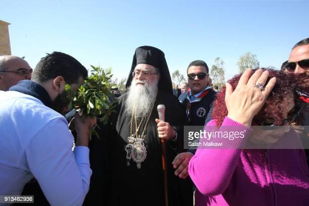 Metropolitan Venediktos of Philadelphia leads a few thousand Orthodox Christian pilgrims in attendance as Orthodox Christians celebrate the Epiphany...